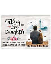 Father And Daughter 17x11 Poster front
