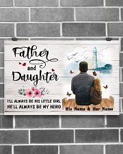 Father And Daughter 17x11 Poster poster-landscape-17x11-lifestyle-18