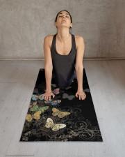 Limited Edition Yoga Mat 24x70 (vertical) aos-yoga-mat-lifestyle-17