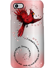 A Cardinal To Remind Me Phone Case i-phone-8-case
