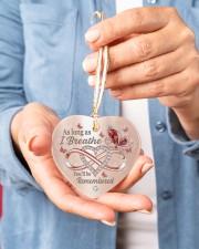 As Long As I Breathe Heart ornament - single (porcelain) aos-heart-ornament-single-porcelain-lifestyles-01