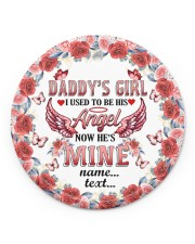 Daddys Girl  Circle ornament - single (porcelain) front