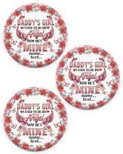 Daddys Girl  Circle Ornament (Porcelain) tile