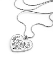 My Dad My Angel Metallic Heart Necklace aos-necklace-heart-metallic-lifestyle-05
