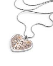 Daddys Girl Metallic Heart Necklace aos-necklace-heart-metallic-lifestyle-05