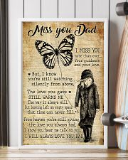 Miss You Dad 11x17 Poster lifestyle-poster-4
