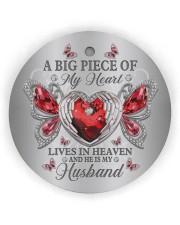 A Big Piece Of My Heart Circle ornament - single (wood) thumbnail