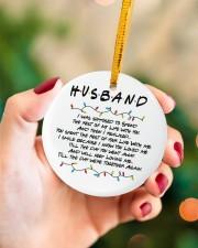 Husband Circle ornament - single (porcelain) aos-circle-ornament-single-porcelain-lifestyles-09