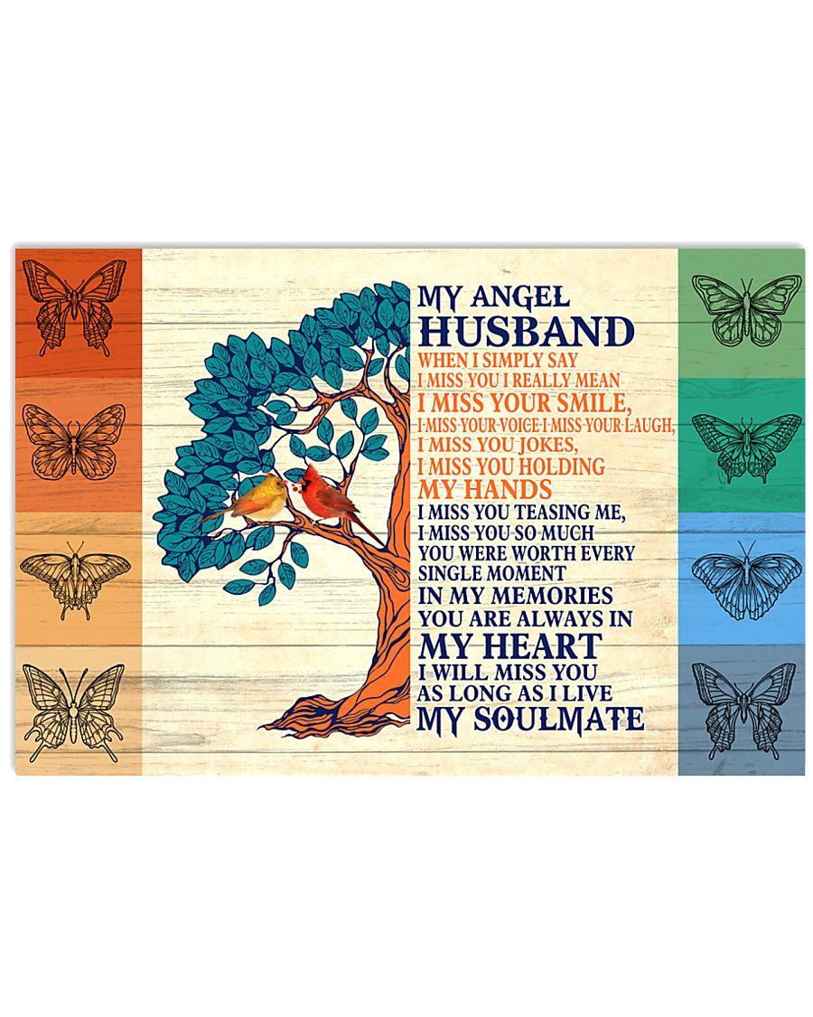 My Angel Husband 17x11 Poster