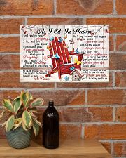 As I Sit In Heaven 17x11 Poster poster-landscape-17x11-lifestyle-23