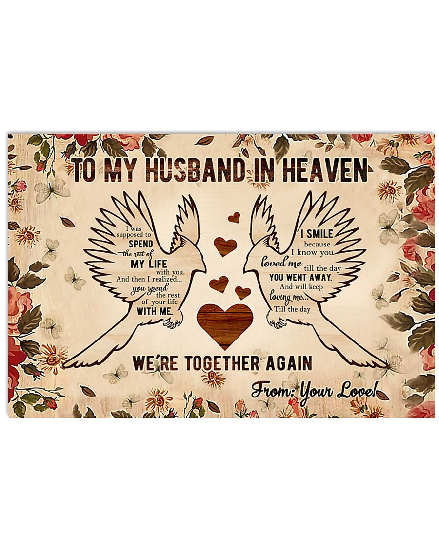 To My Husband 17x11 Poster