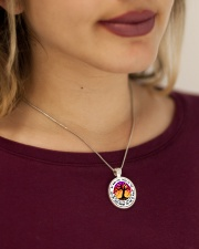 Limited Edition Metallic Circle Necklace aos-necklace-circle-metallic-lifestyle-1