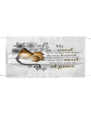 My Love In Heaven Cloth face mask front