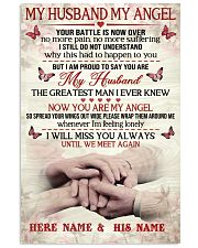 My Husband My Angel 11x17 Poster front