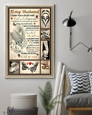 To My Husband 11x17 Poster lifestyle-poster-1