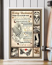 To My Husband 11x17 Poster lifestyle-poster-4