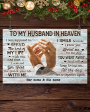 To My Husband In Heaven 17x11 Poster aos-poster-landscape-17x11-lifestyle-27