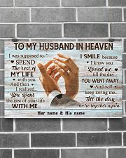 To My Husband In Heaven 17x11 Poster poster-landscape-17x11-lifestyle-18