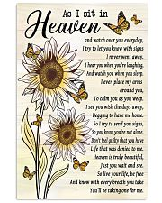 As I Sit In Heaven 11x17 Poster front