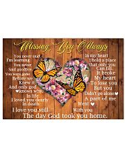 Missing You Always 17x11 Poster front