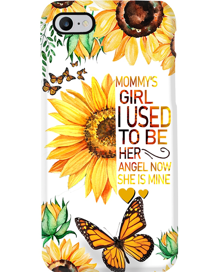 Mommy's Girl I Used To Be Her Now She's Mine Phone Case