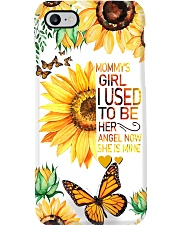 Mommy's Girl I Used To Be Her Now She's Mine Phone Case i-phone-7-case