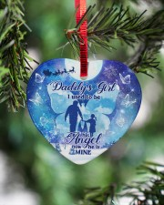 Daddys Girl Heart ornament - single (porcelain) aos-heart-ornament-single-porcelain-lifestyles-07