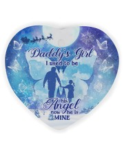 Daddys Girl Heart ornament - single (wood) thumbnail