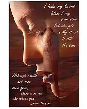 I Hide My Tears 11x17 Poster front