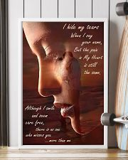 I Hide My Tears 11x17 Poster lifestyle-poster-4