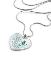 My Mind Still Talks To You Metallic Heart Necklace aos-necklace-heart-metallic-lifestyle-05