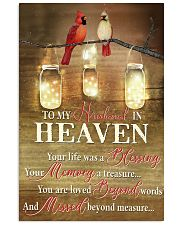 To My Husband 11x17 Poster front