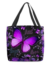 Hope Faith Love All-over Tote front