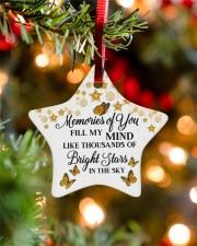 Memories Of You Star ornament - single (porcelain) aos-star-ornament-single-porcelain-lifestyles-07