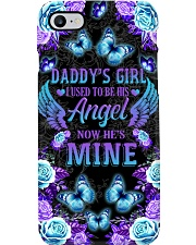 Daddy's Girl I Used To Be His Angel Now He's Mine Phone Case i-phone-8-case