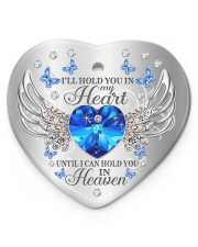 Ill Hold You In My Heart Heart ornament - single (porcelain) front
