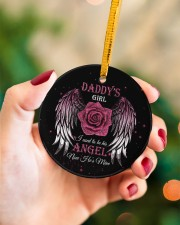 Daddys Girl Circle ornament - single (porcelain) aos-circle-ornament-single-porcelain-lifestyles-09