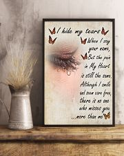 I Hide My Tears 11x17 Poster lifestyle-poster-3
