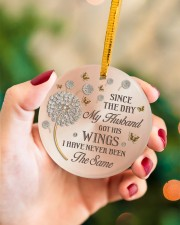 Since The Day Circle ornament - single (porcelain) aos-circle-ornament-single-porcelain-lifestyles-09
