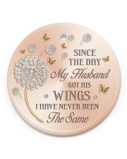 Since The Day Circle ornament - single (porcelain) front