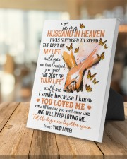 To My Husband In Heaven 8x10 Easel-Back Gallery Wrapped Canvas aos-easel-back-canvas-pgw-8x10-lifestyle-front-04