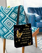 My Mind Still Talks To You All-over Tote aos-all-over-tote-lifestyle-front-01