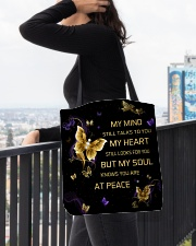 My Mind Still Talks To You All-over Tote aos-all-over-tote-lifestyle-front-05