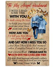 To My Angel Husband 11x17 Poster front