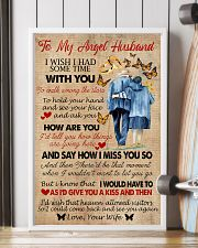 To My Angel Husband 11x17 Poster lifestyle-poster-4