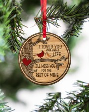 I Loved You Circle ornament - single (porcelain) aos-circle-ornament-single-porcelain-lifestyles-07