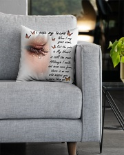 I Hide My Tears Square Pillowcase aos-pillow-square-front-lifestyle-05