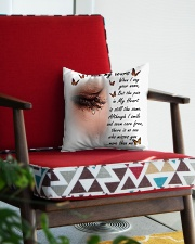 I Hide My Tears Square Pillowcase aos-pillow-square-front-lifestyle-09