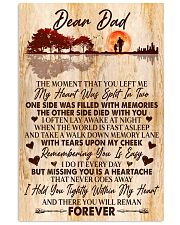 Dear Dad  11x17 Poster front