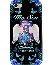My Son IsMy Guardian Angel He Watches Over My Back Phone Case i-phone-8-case